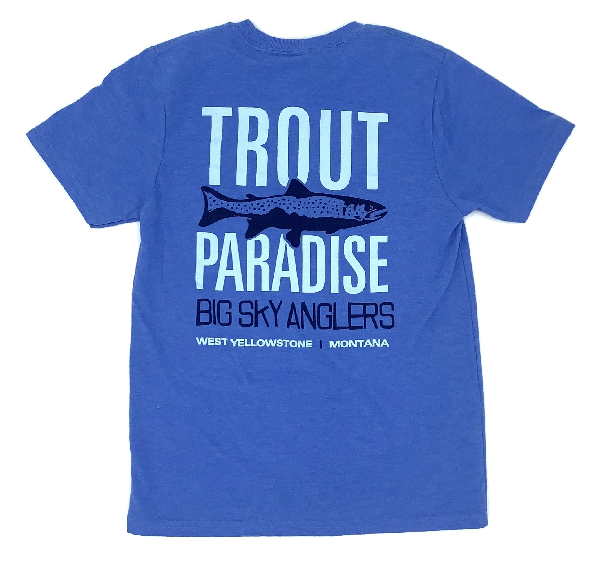 Big Sky Anglers BSA Trout Paradise Youth T-Shirt