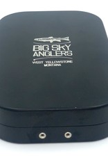 Big Sky Anglers Big Sky Anglers Metal Fly Box Slit Foam Fly Box Black