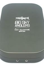 Big Sky Anglers Big Sky Anglers Metal Fly Box Slit Foam Fly Box Grey