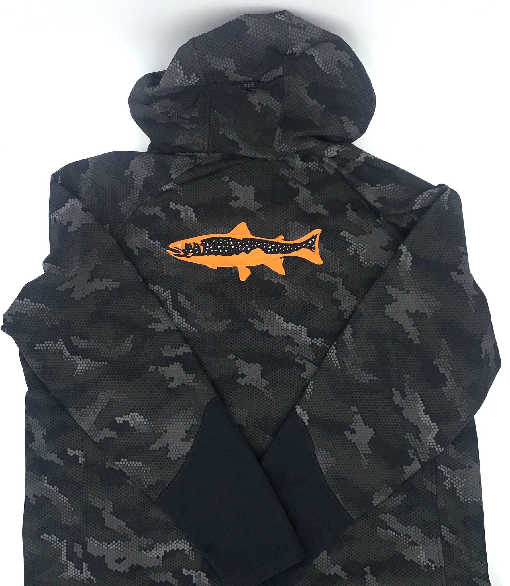 Big Sky Anglers BSA 2 Logo Simms Katafront Hoody