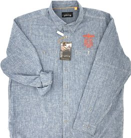 Big Sky Anglers BSA Stack Orvis Tech Chambray L/S