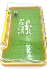 Big Sky Anglers Big Sky Anglers Clear Slim Silicone Fly Box L Yellow