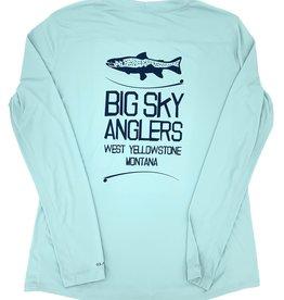 Big Sky Anglers BSA Simms Women's Solarflex Crew