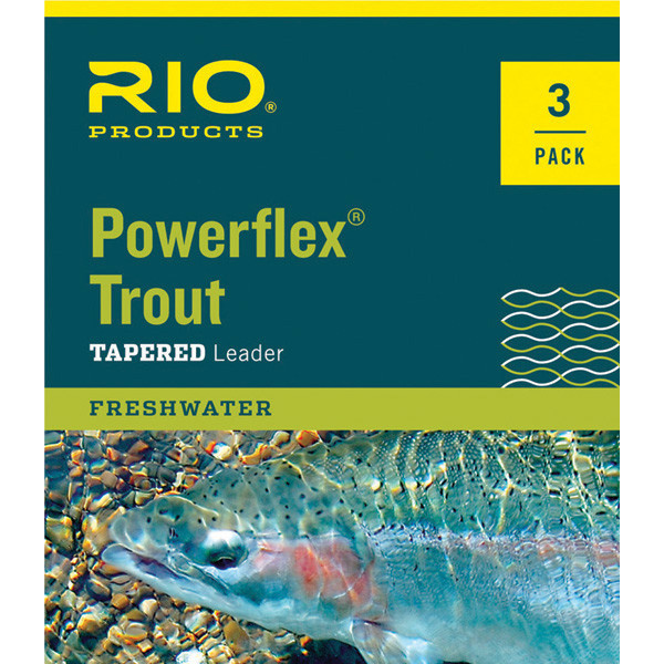 Rio Rio Powerflex Leader 3 - Pack