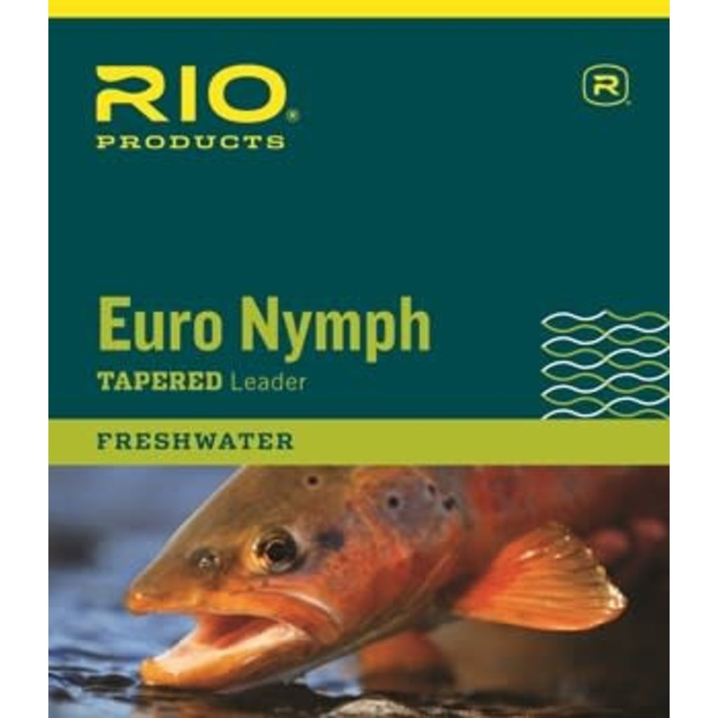 Rio Rio Technical Euro Nymph Leader With Tippet Ring 14 Ft.