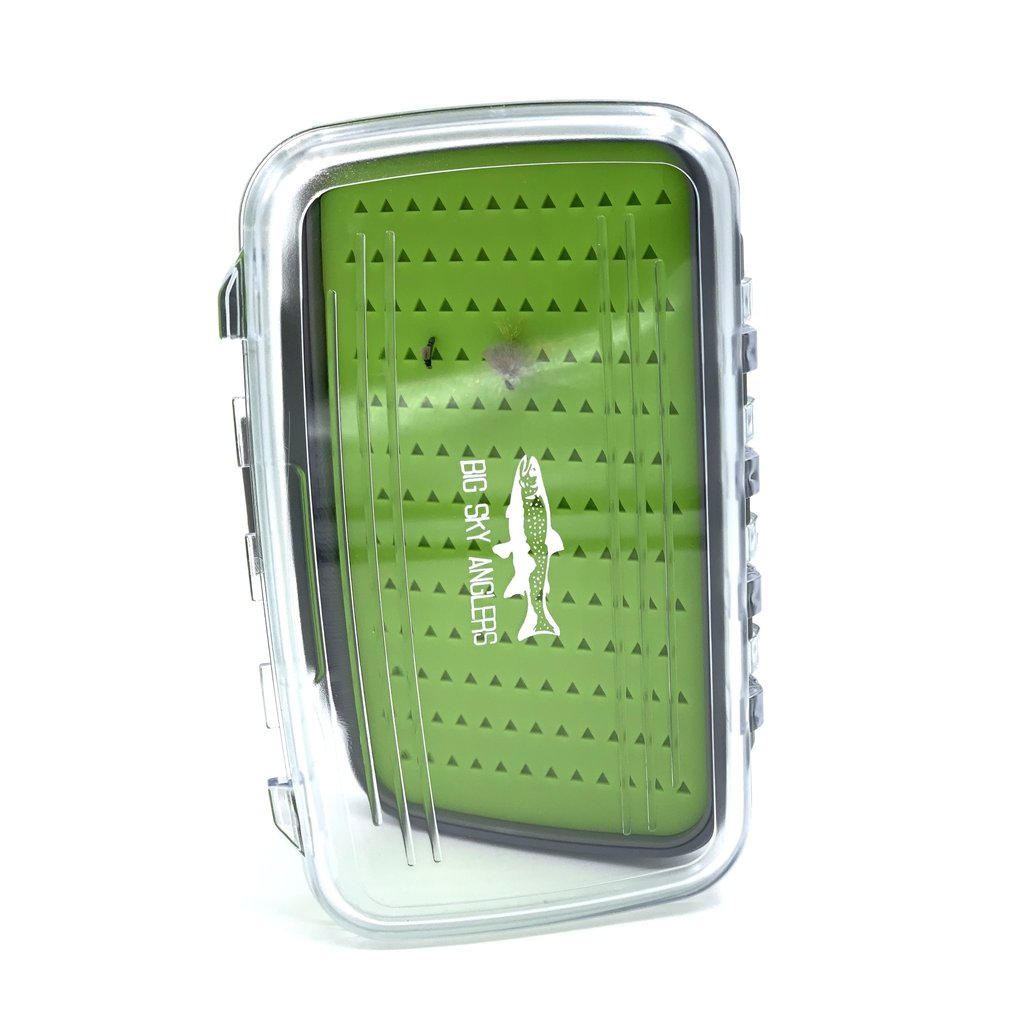 Big Sky Anglers Big Sky Anglers Clear Waterproof Silicone Fly Box L - BUY TWO GET THE SECOND FREE!!!