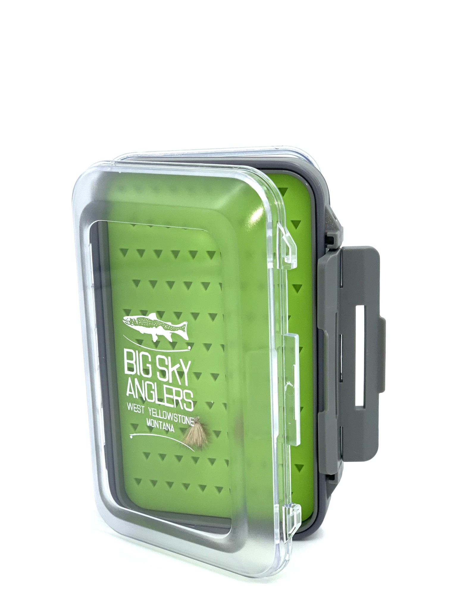 Big Sky Anglers Big Sky Anglers Clear Waterproof Silicone Fly Box - BUY TWO GET THE SECOND FREE!!!