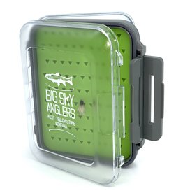 Big Sky Anglers Big Sky Anglers Clear Waterproof Silicone Fly Box S - BUY TWO GET THE SECOND FREE!!!