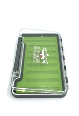 Big Sky Anglers Big Sky Anglers Clear Slim Silicone Fly Box L Grey