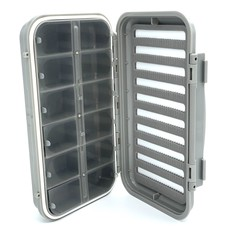 Big Sky Anglers Big Sky Anglers Waterproof Fly Box 12 Compartment And Foam  - BUY TWO GET THE SECOND FREE!!!