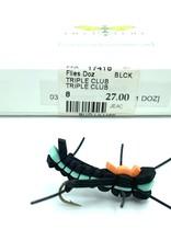 Idylwilde Flies Triple Club Black 8