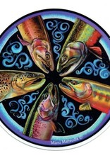 Mimi Matsuda Mandala Sticker