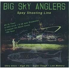 Big Sky Anglers BSA Spey Shooting Line Line 40LB