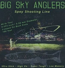 Big Sky Anglers BSA Spey Shooting Line 40LB