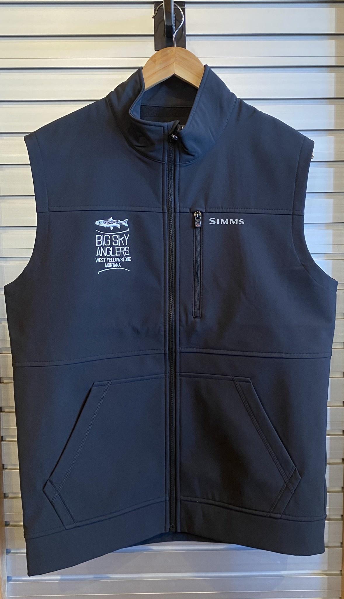 Big Sky Anglers BSA Logo Simms Rogue Vest