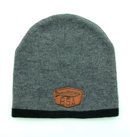 Big Sky Anglers BSA Knit Cap Gray/Black