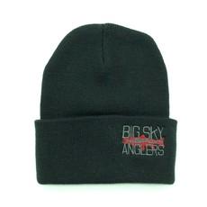 Big Sky Anglers BSA Knit Cap Black