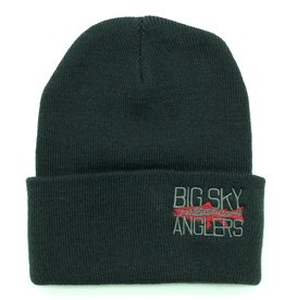 Big Sky Anglers BSA Knit Cap Black