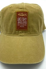 Big Sky Anglers Big Sky Anglers Canyon Cap Woven Label - Multiple Colors