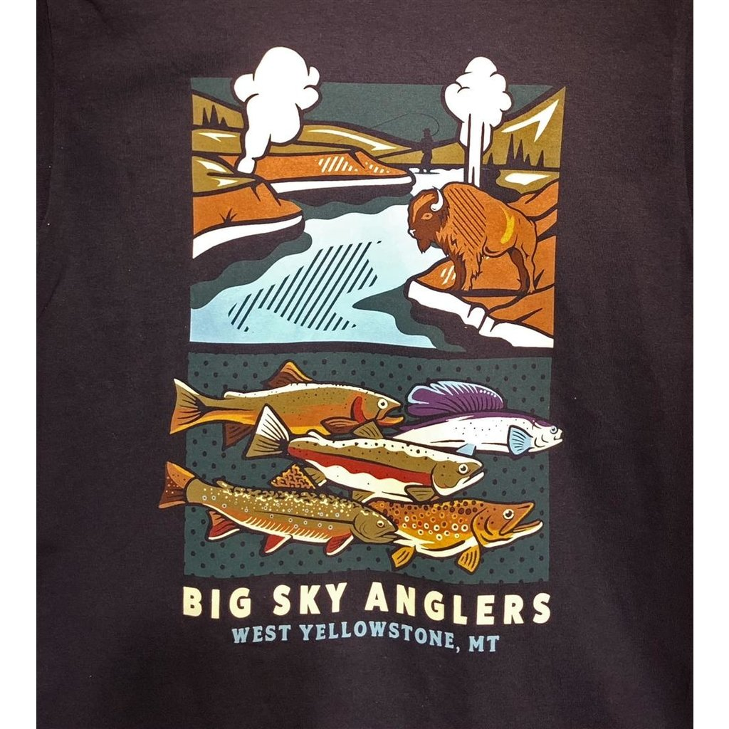 Big Sky Anglers BSA Yellowstone Experience Shirt