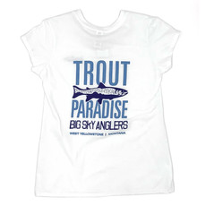 Big Sky Anglers BSA Trout Paradise Girl's T-Shirt