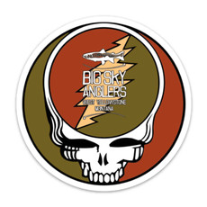Big Sky Anglers BSA Steal Your Face Sticker