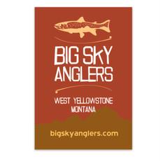 Big Sky Anglers BSA Sticker Pack