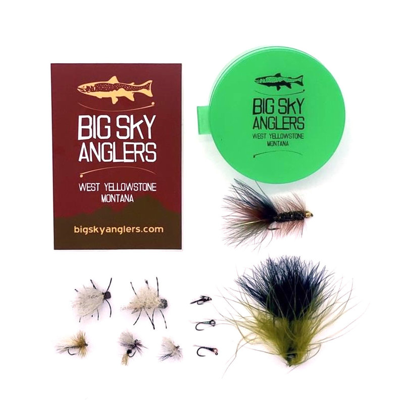 Big Sky Anglers BSA Guides Choice Fly Selection