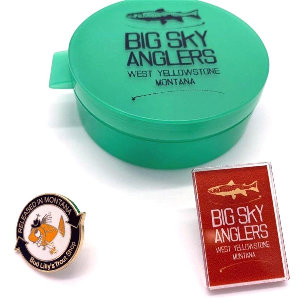 Big Sky Anglers BSA Pin Selection