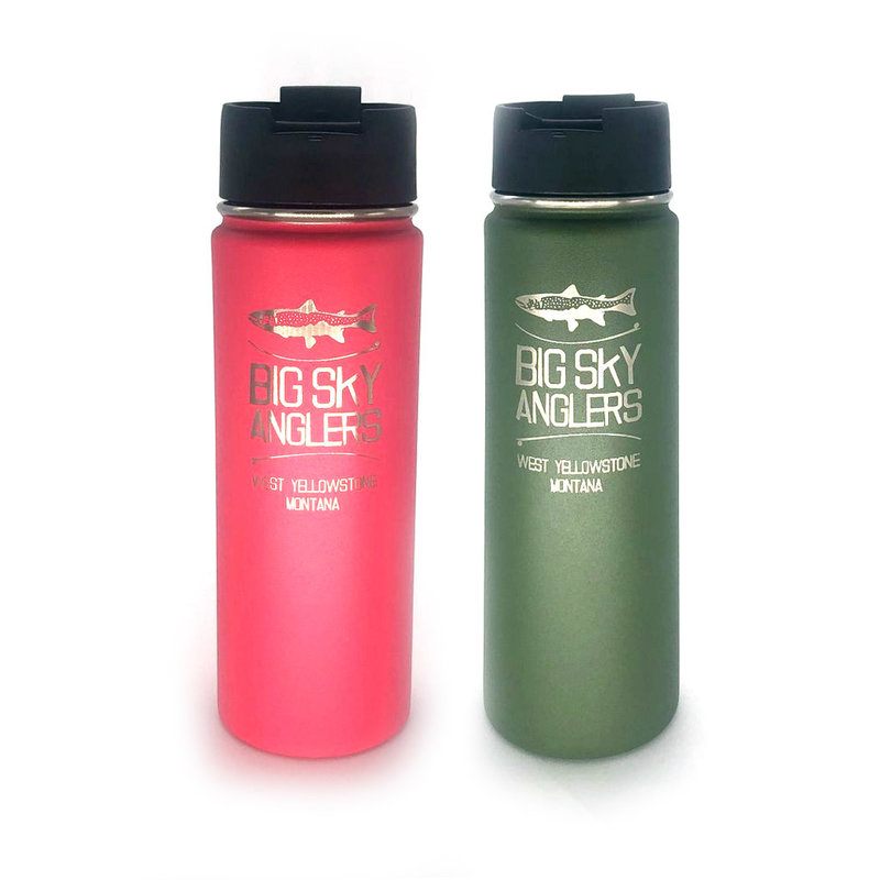 Big Sky Anglers Hydro Flask 20 Oz. Wide Mouth W/ Flip Lid
