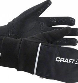 Craft Hybrid Weather Glove Black LG