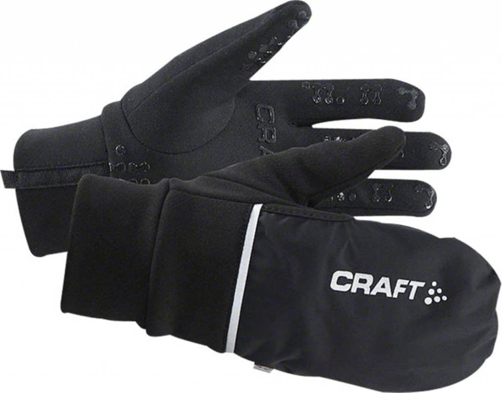 Craft Hybrid Weather Glove Black SM