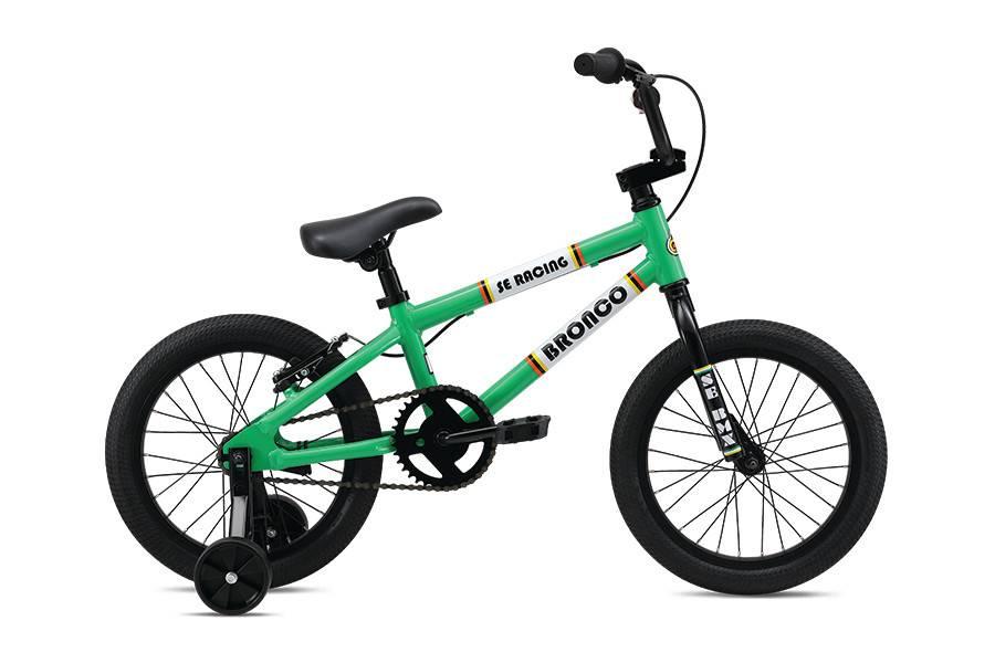 SE BIKES Bronco 16 Green
