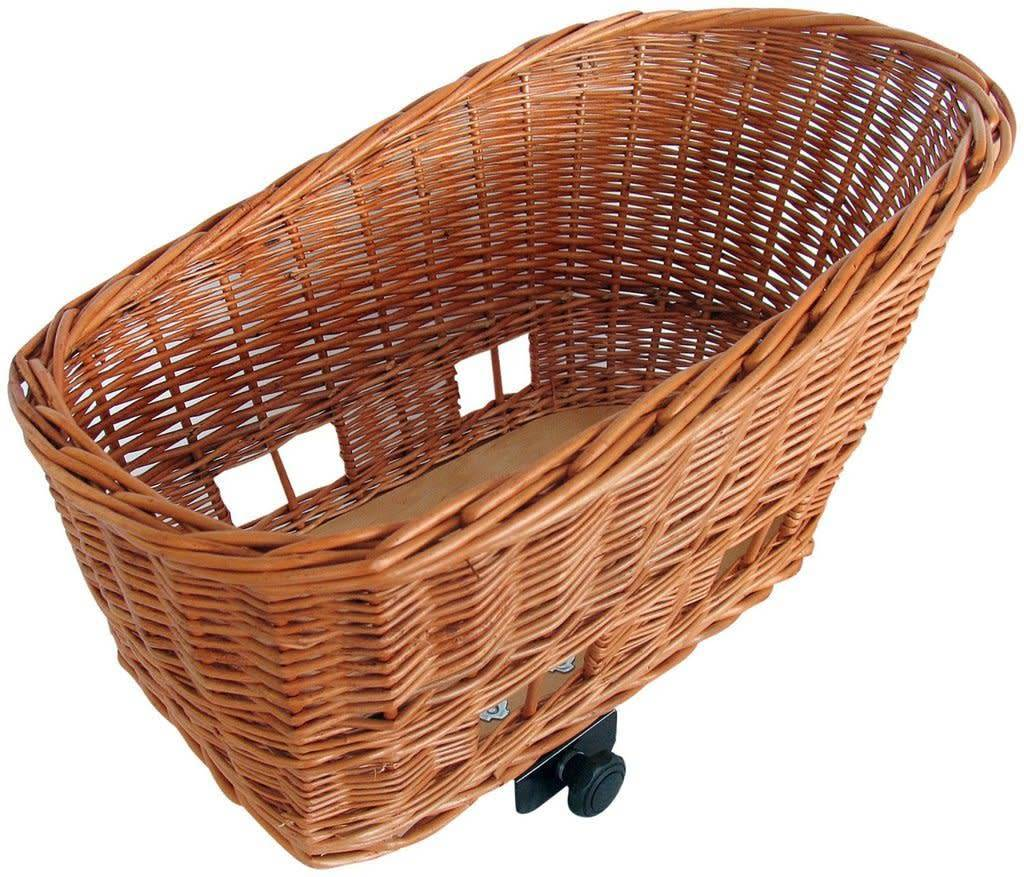Basil Pasja Rear Rack Top Pet Basket MD
