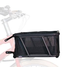 "Yuba Bicycles Yuba Bread Basket w/Liner Black 19"" x 14"""