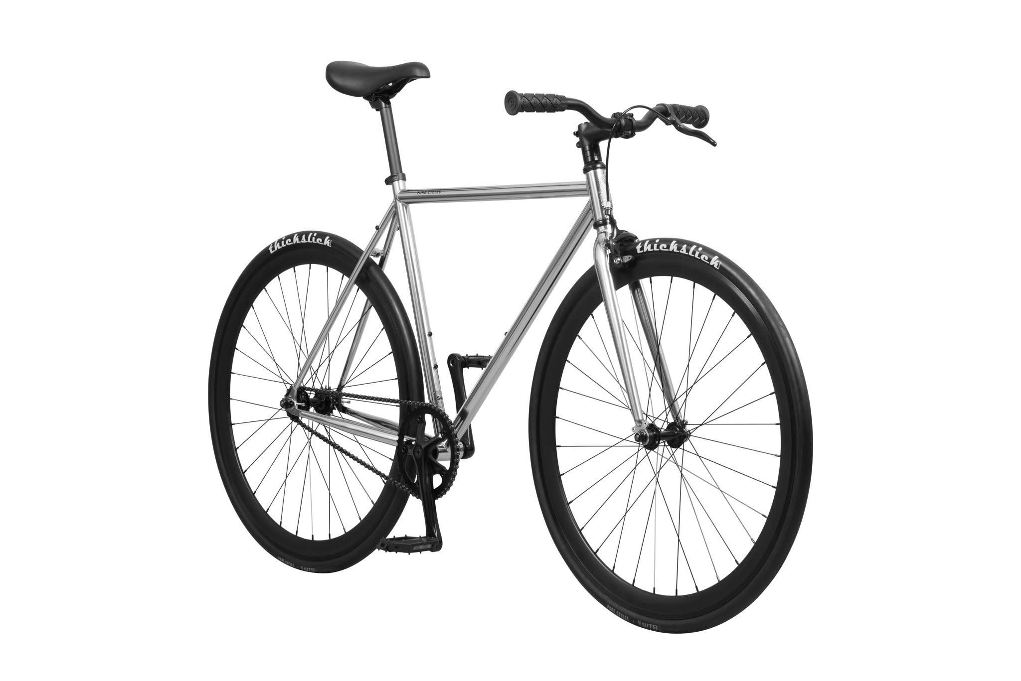 Pure Cycles Pure Fix Oscar 54/M Chrome/Black