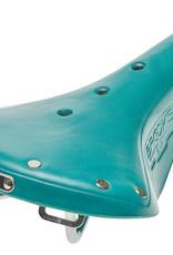 Brooks B17 Standard Saddle w/Chrome Rails - Turquoise