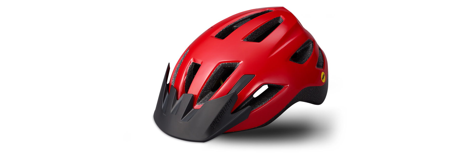 Specialized Helmet Shuffle Youth LED MIPS Red