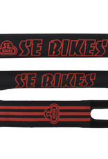 SE BIKES Pad Set BMX SE Bikes Black/Red