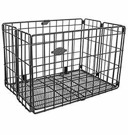 Basket Rear Folding Black
