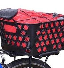 Bikase Basket Rear Rack Top Dairyman QR Black