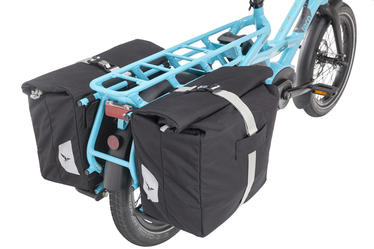 Tern Cargo Hold 37 Panniers Black for HSD/GSD (Pair)