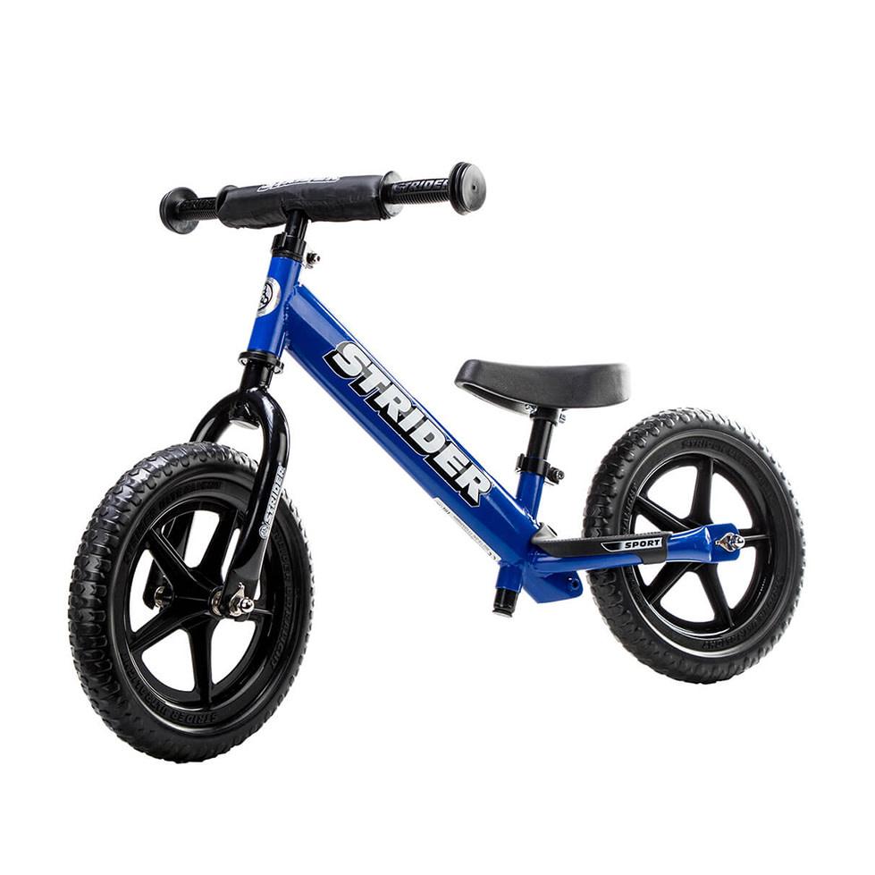 Strider Sports 12 Classic Balance Bike Blue