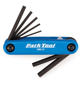 Park Tool AWS-10 Metric Folding Hex Wrench Set