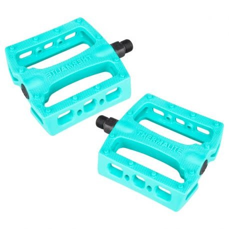 """Pedals 9/16"""" BMX Thermalite Turquoise"""