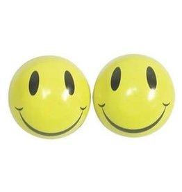 Trik Topz Valve Caps  - Smiley Face - Yellow