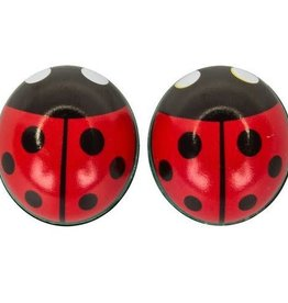 TRICKTOPZ Valve Caps Lady Bug Red