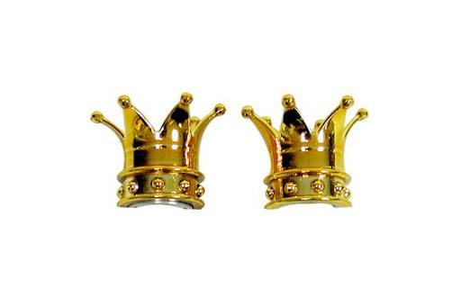 Trik Topz Valve Caps  - Crown - Gold
