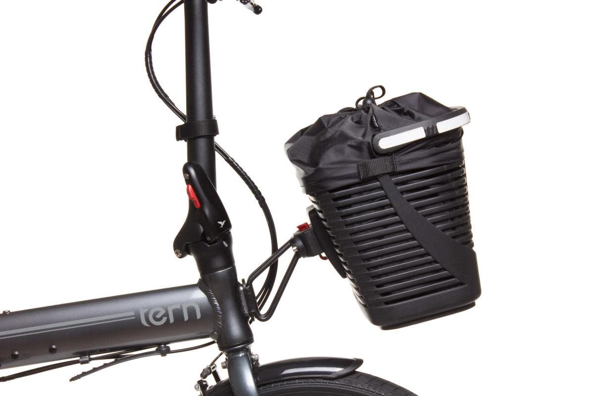 Tern Hold 'Em Basket Front Black