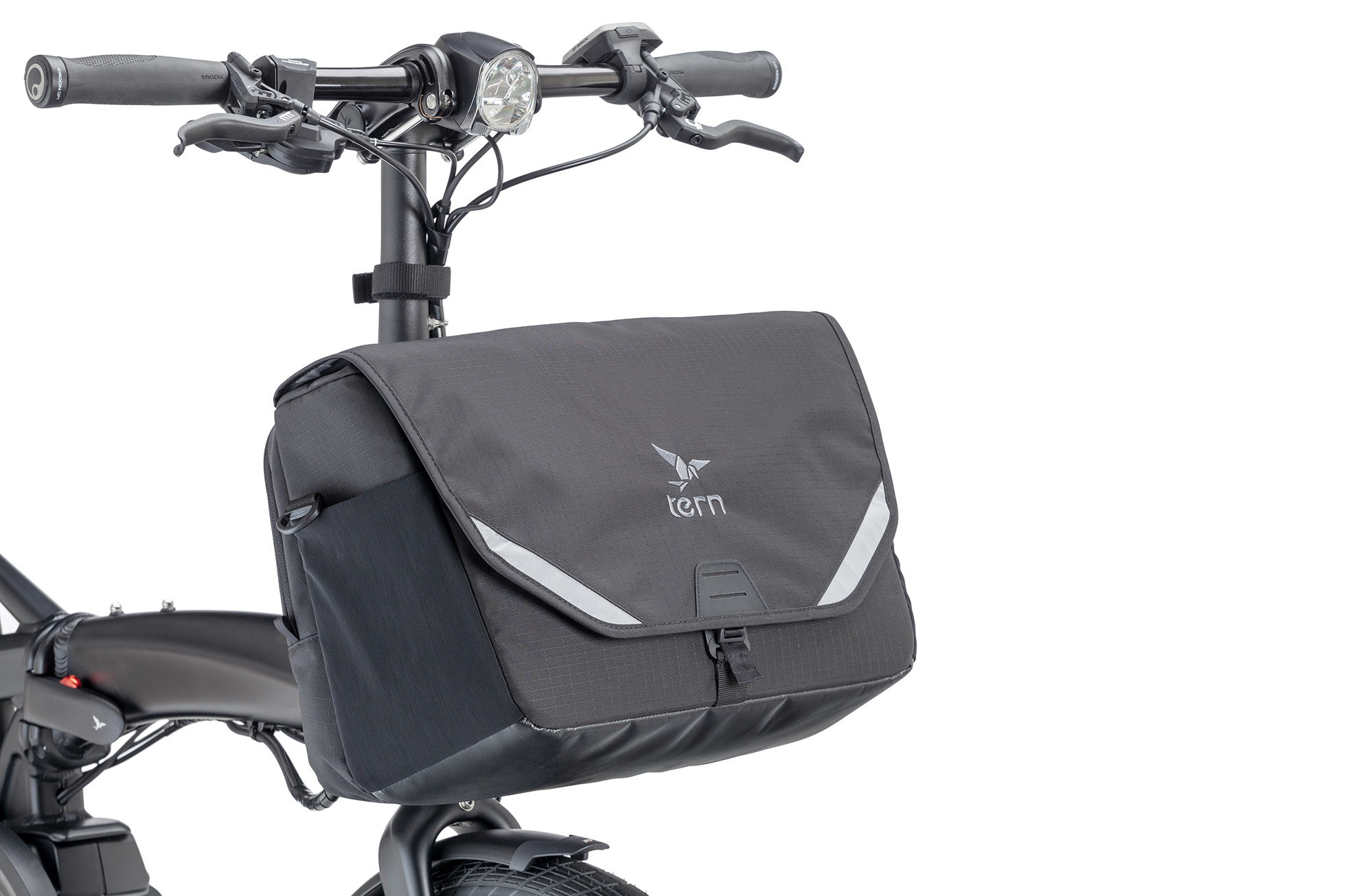 Tern Go-To Front Bag Black